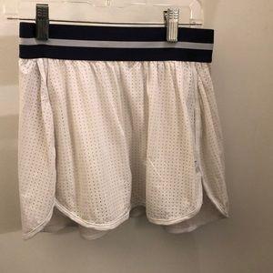 Splits 59 white and blue skirt, sz s, 71619